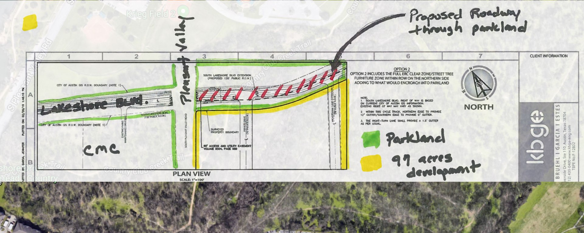 AUSTIN: Developers, City Want To Extend Lakeshore Blvd