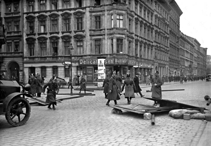 Berlin, Mai-Unruhen