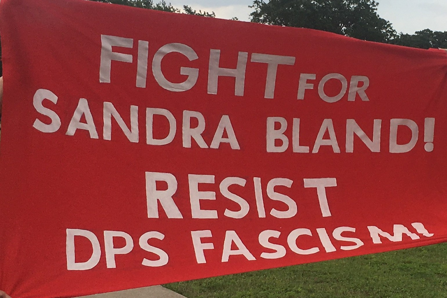AUSTIN: Protest of State Trooper HQ In Memory of Sandra Bland