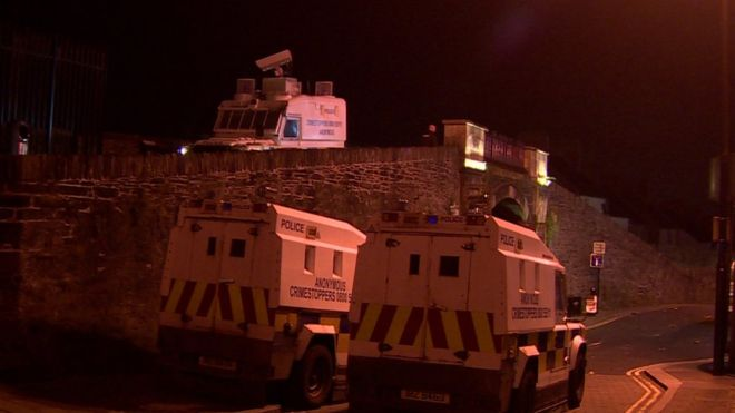 IRELAND: Riots Rock Derry 50 Years After the Battle of Bogside
