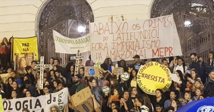 amazonRioprotest
