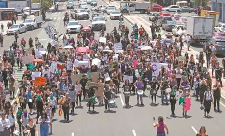 March on August 12 against Police violence against women