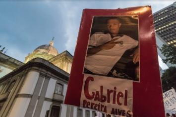 Gabriel Pereira Alves, murdered by police in Rio de Janeiro