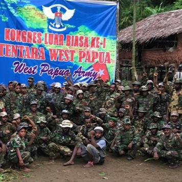 West Papuan Army, recently formed from 3 separate rebel groups