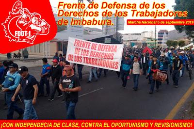 Ecuador: Trabajadores Preparan Para la Huelga Nacional