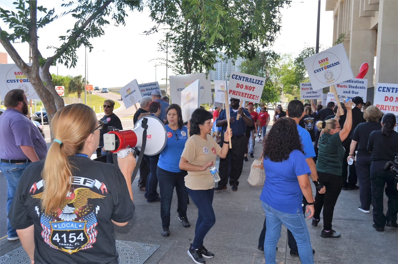 TAMPA: Custodial Workers To Lose Jobs as School District Makes Cuts