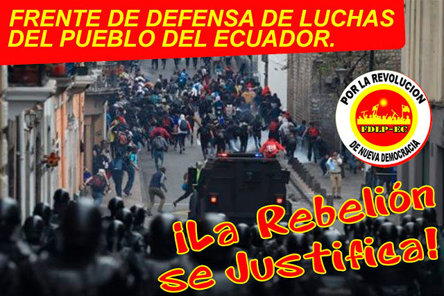 Ecuador: The Fight Escalates Throughout the Country