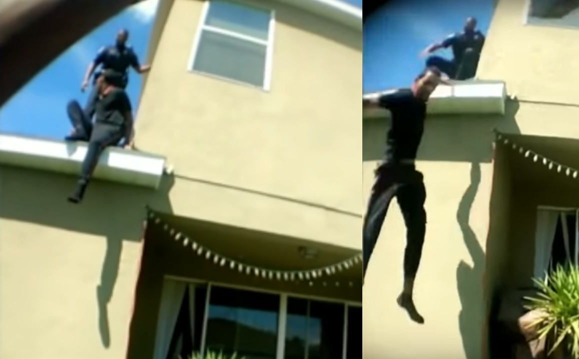 FLORIDA: Police Officer Shoves Teenager Off Roof, Loses Vacation Day