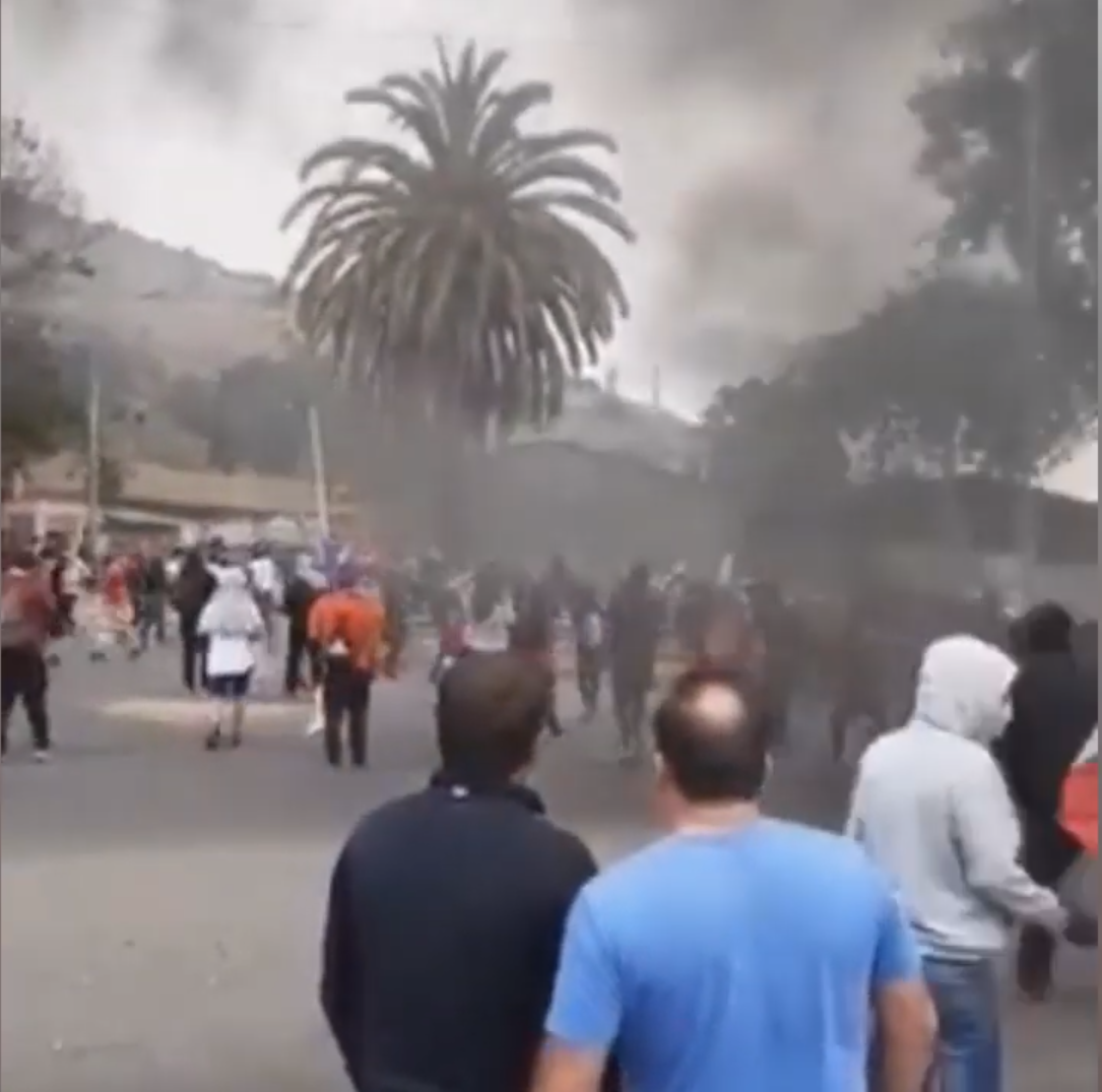 CHILE: The Heroic People Set Fire to Fascist Torture Center