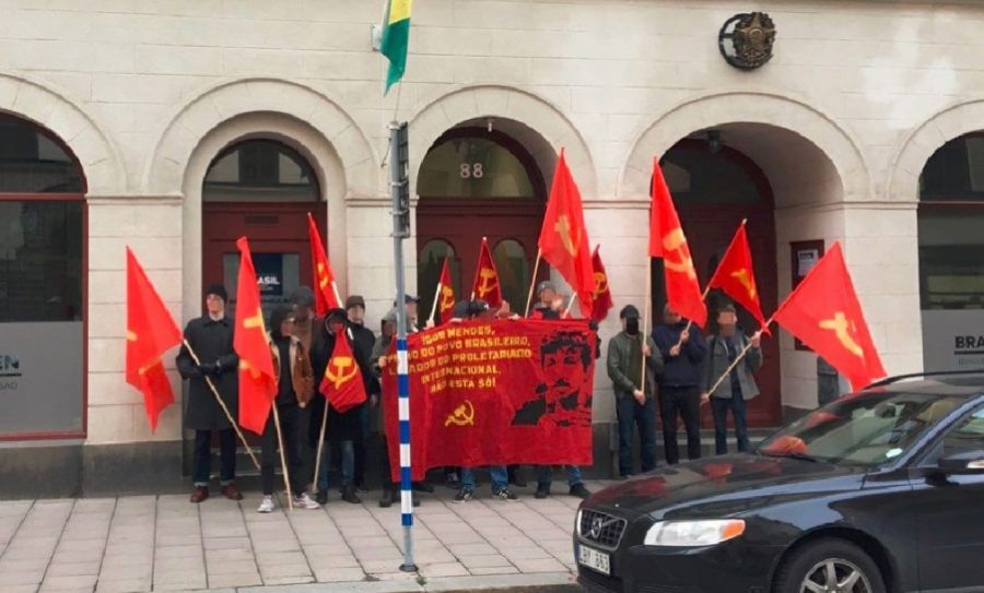 SWEDEN: Revolutionaries Carry Out Demonstrations of International Solidarity