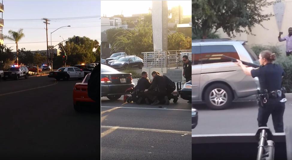 SAN DIEGO: Policía brutalizó un Hombre Negro en Área Gentrificada