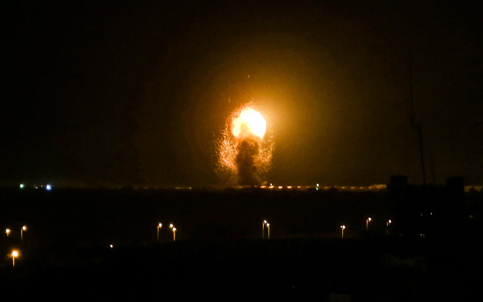 PALESTINE: Israel Launches Airstrikes Against Gaza