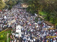 Protests take streets in Mumbai against CAA