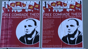Flyer for Comrade Theo