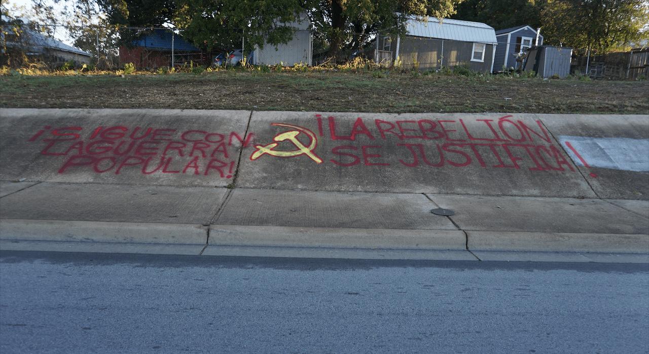 AUSTIN: Graffiti Supports Revolution in Latin America