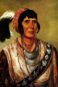 War Chief Osceola painted by George Catlin