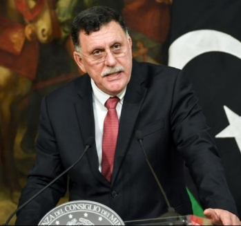 GNA Prime Minister Fayez al-Sarraj