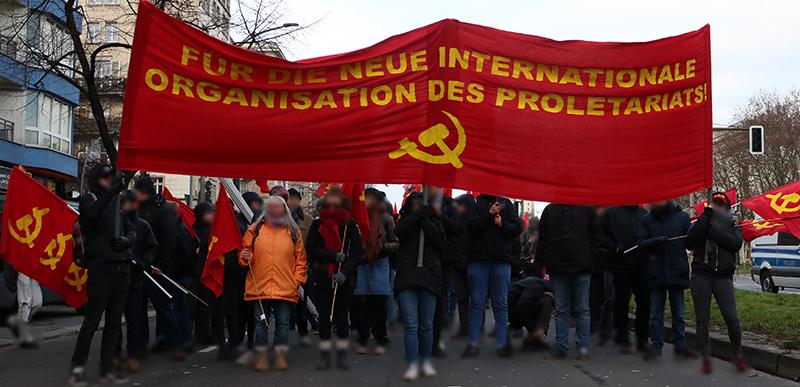 GERMANY: Maoists Honor Luxemburg, Liebknecht, and Lenin