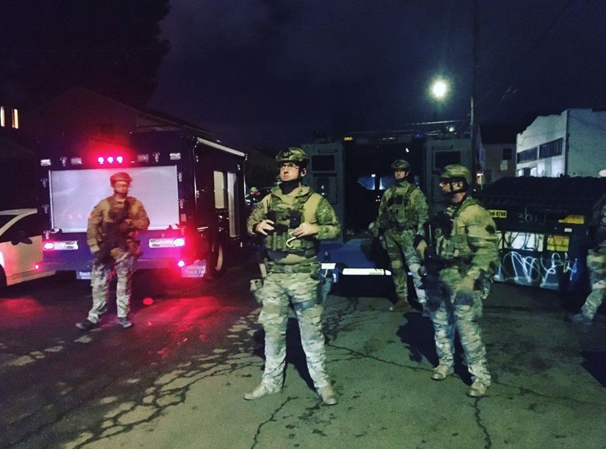 OAKLAND: Militarized, Pre-Dawn Police Operation Evicts Black Mothers Occupying Investor Property