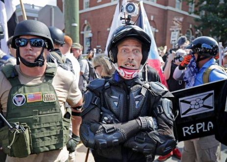 Christopher Ritchie at Unite the Right in Charlottesville
