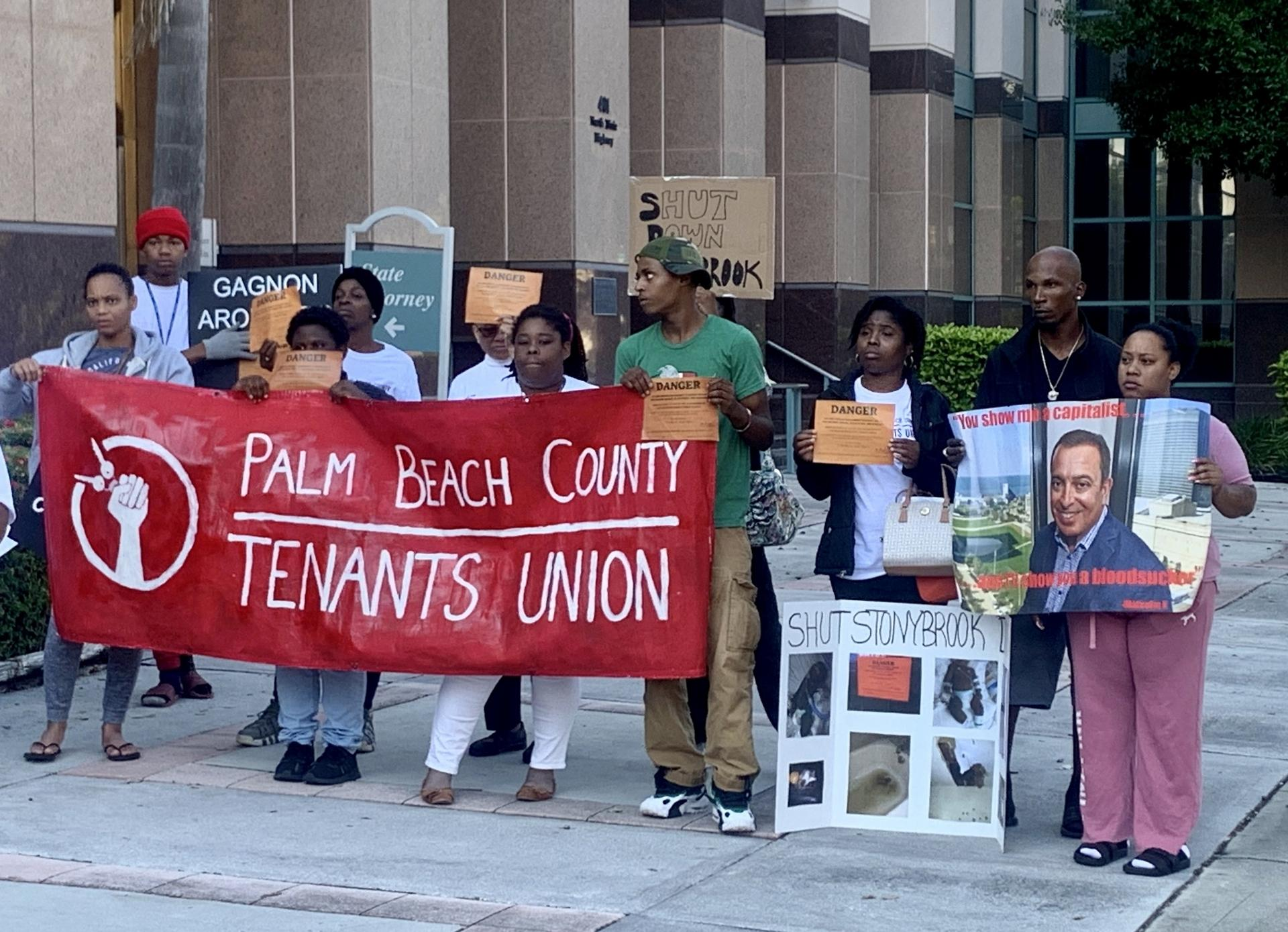 PALM BEACH: Police Brutally Evict Stonybrook Tenant Organizers and Families