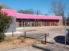 La oficina de campaña de Bloomberg en Austin, TX