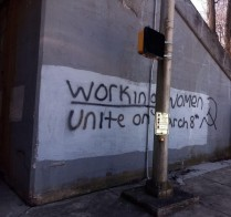 Graffiti seen in the MIchiana region